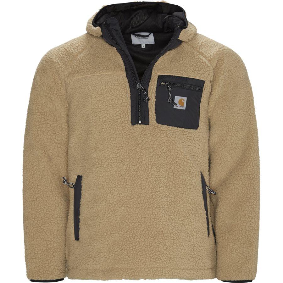 PRENTIS PULLOVER I027123 - Prentis Pullover Jacket - Jakker - Regular - DUSTY H BROWN - 1